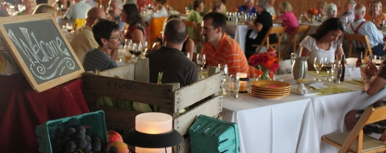 The Farm to Table Dinner: Celebrating PA's local food while raising funds to fight cancer
